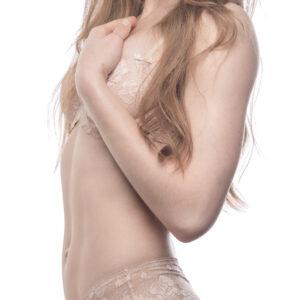 Model krop fra siden